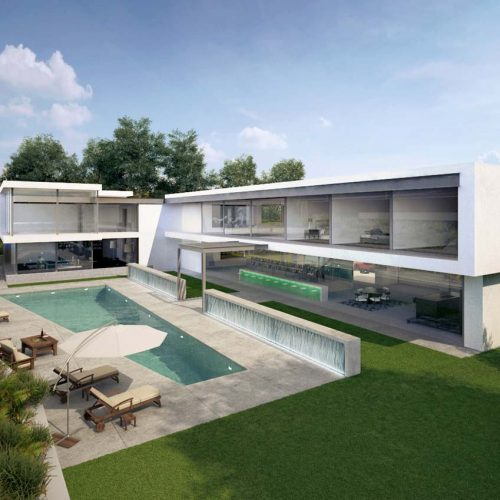3D-Architectural-Visualisation-exterior-los-angeles-home