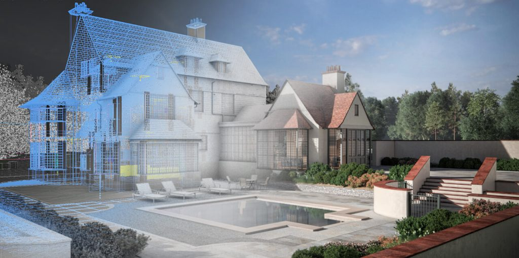 The 3D visualisation Process for Exterior Renders - Property Developer Example