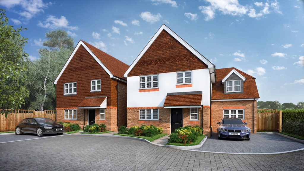 Property CGI Created from Plans and Elevations