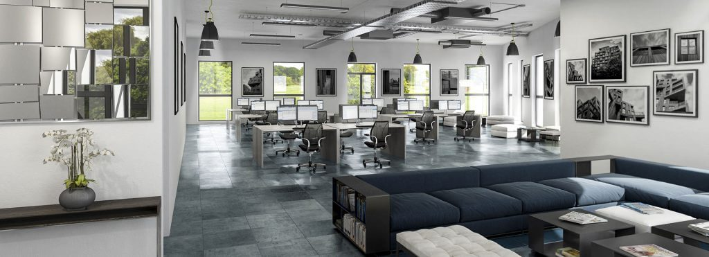 Office Spaces Realised for Design and Ergonomic Production