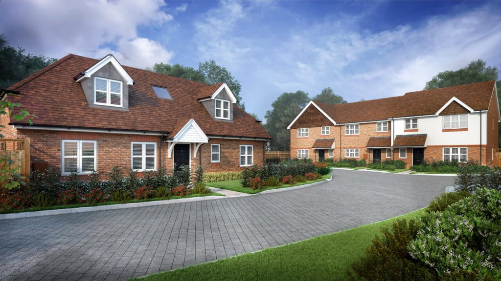 Property Development CGI for Marketing and Planning Permission - 3D Architectural Images