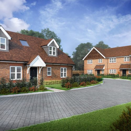 Property Development CGI for Marketing and Planning Permission