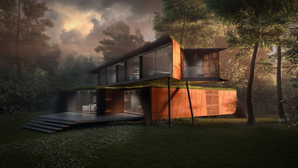 3D Artist architecture - Award Winning Architectural Design by Bentleys and Carter