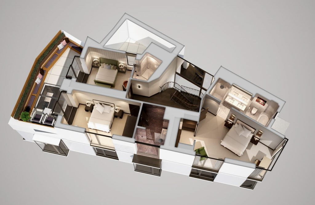 3D Floor Plans For Interior Design A