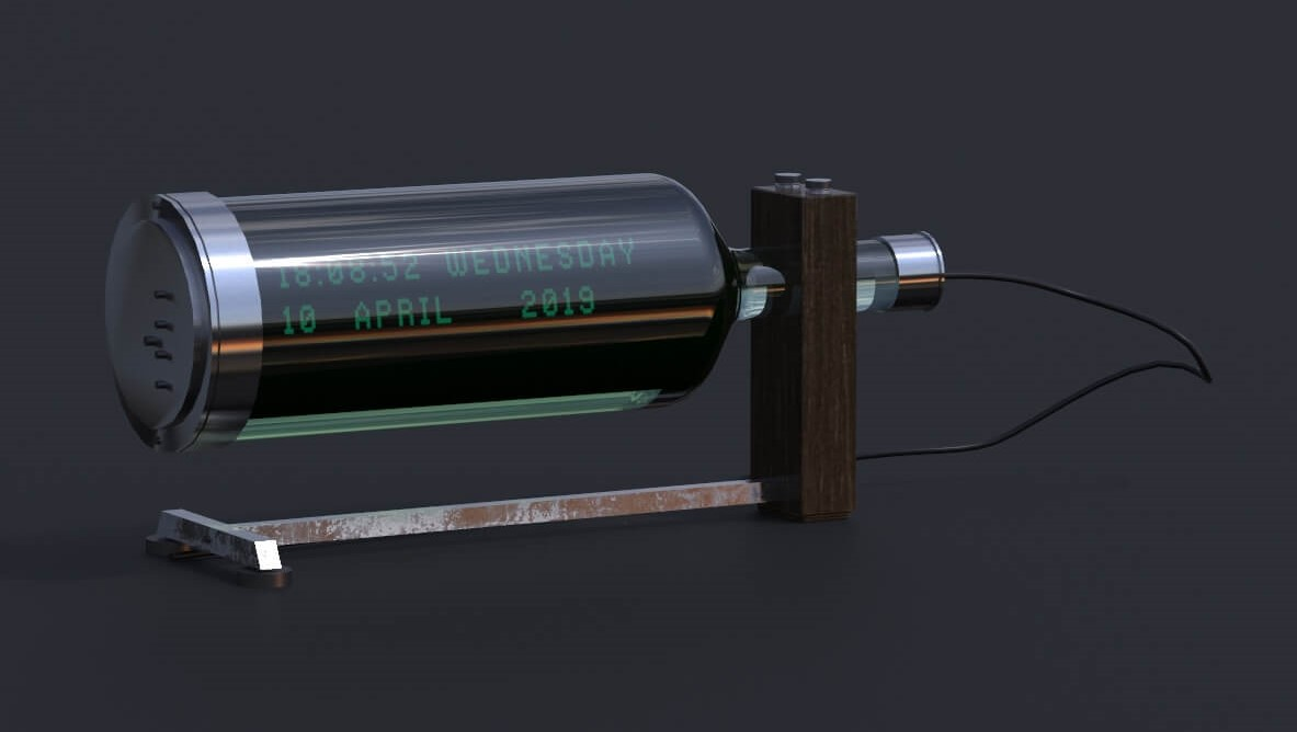 Digital Bottle Clock