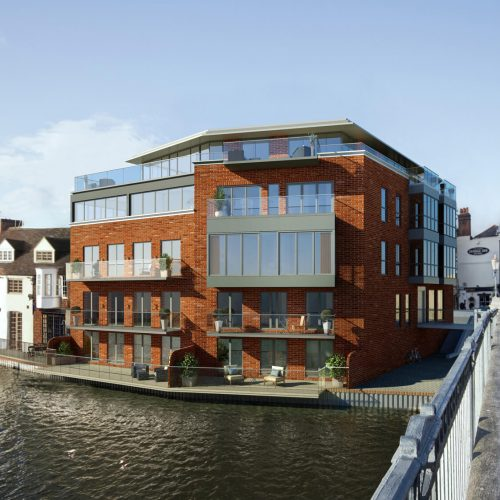 Riverbank Building for Planning Permission