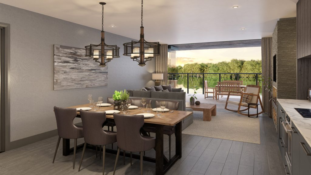 The Lakes by YOO - Shabby Chic Dining Area