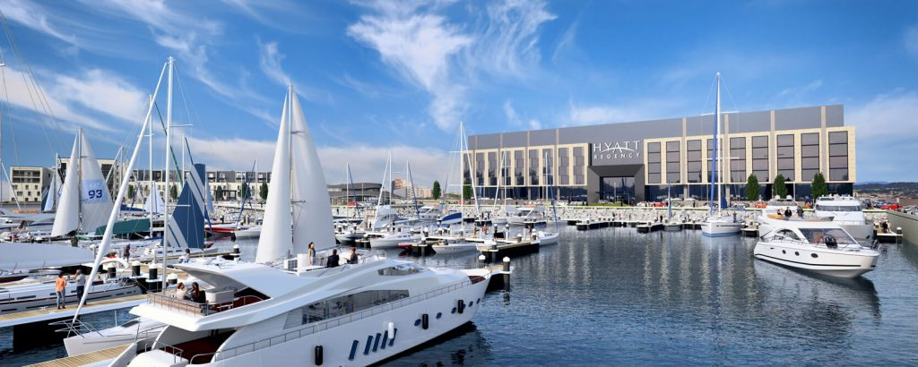 3D Architectural Animation - Archviz for Edinburgh Marina