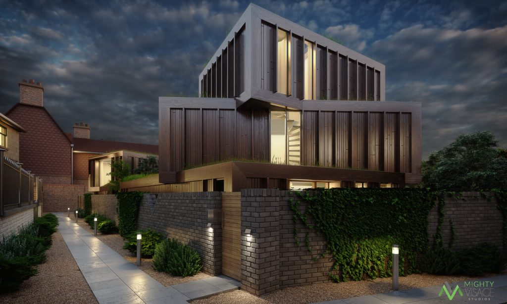 3D Architectural Visualization Companies - Archviz in the Evening