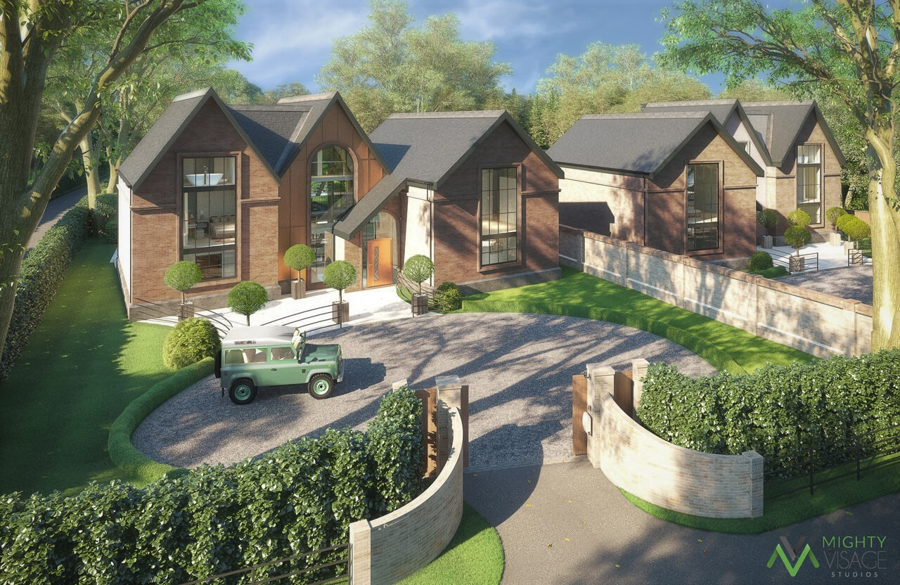 Paul Carter - Architectural Renders for Planning and Design