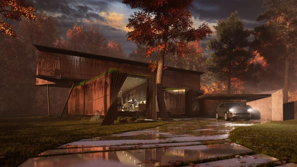 Best Architectural Visualization - Bentleys and Carter Award Winning Design - Autumn